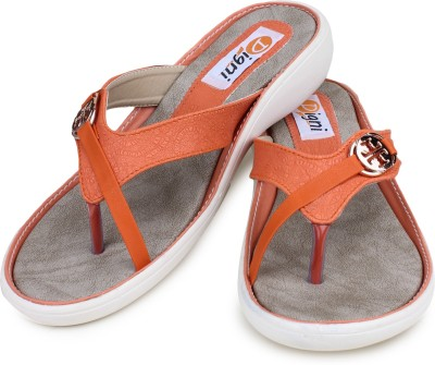 Digni Women Orange Flats