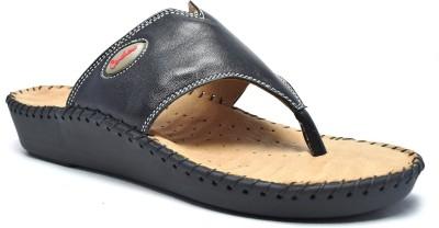 Canthari Ortho Women Black Flats