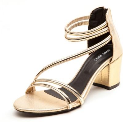 Marc Loire Women Gold Heels