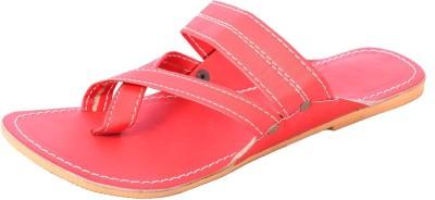 DFR Women Red Flats
