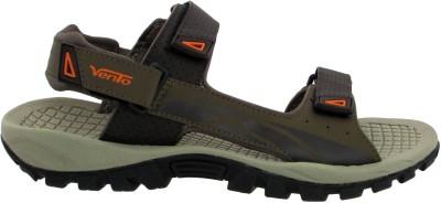 VENTO Men Orange Sandals