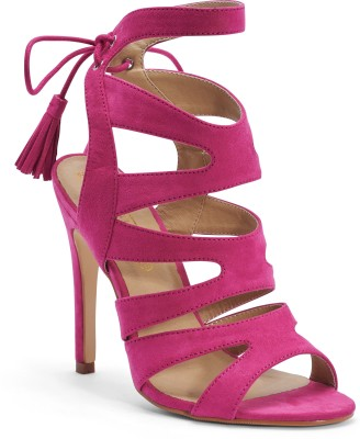TRUFFLE COLLECTION Women Pink Heels