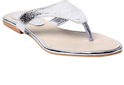 Laila Collection Women Silver Flats