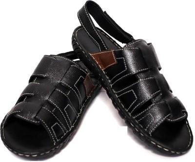 Adler Men Black Sandals