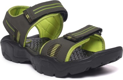 M&H Men Olive, Yellow Sandals