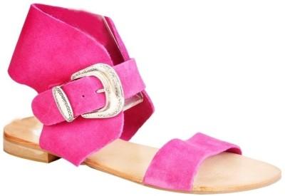 Pinellii Savvy Pink Women Pink Flats