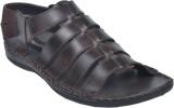 Pietro Carlini Men Brown Sandals