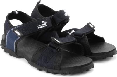 Puma Rio Men Black, Blue Sports Sandals