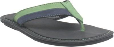 Jack Don Men Blue, Green Sandals