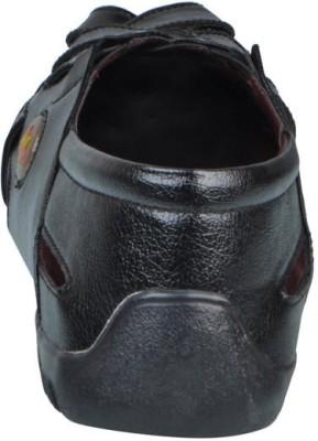 Mocas Men Black Sandals