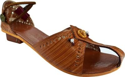 Paavdi Women Khaki Heels