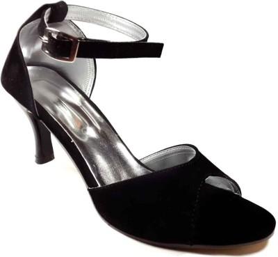 Plutos Women Black Heels