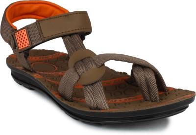 SCANTIA Men Brown Sandals