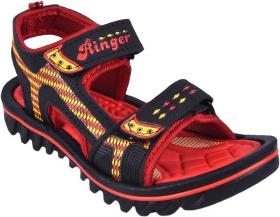 Hot Dog Boys Red Sandals
