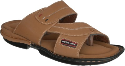 Marshal Men Camel Sandals