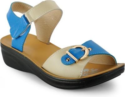 Aqua Women Blue Wedges
