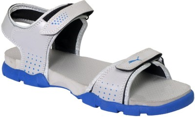 Rod Takes Men Grey, Blue Sandals