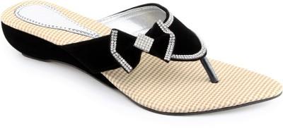 Shoe Lab Women Black Wedges