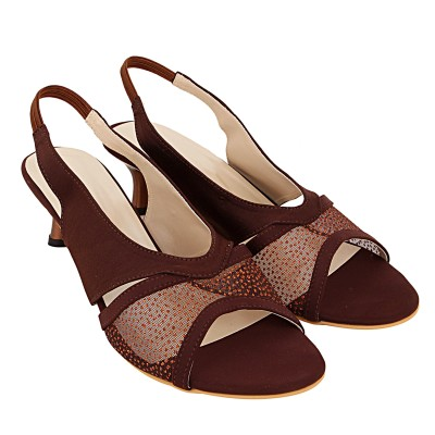 Royal Collection Women Brown Heels