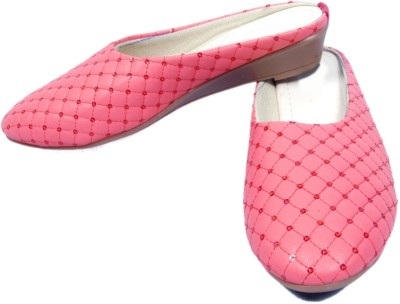Midaspinkcity Women Pink Sandals