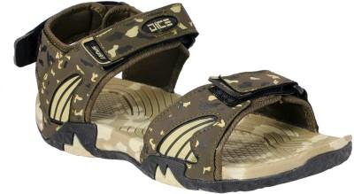 Dice Men Olive Sandals