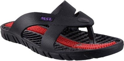 MSL Men Black Flats