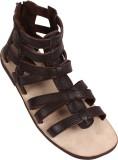 Stiletto Men 002,Brown Sandals