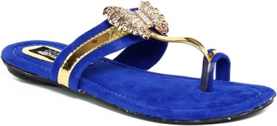 Just Flats Women Blue Flats