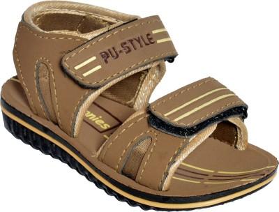 BUNNIES Boys Brown Sandals
