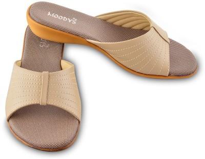 Moodys Women Beige Flats
