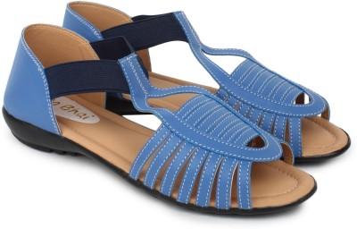 Do Bhai Km-507 Women Blue Flats