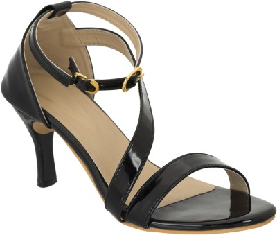 Advin England Women Black Heels