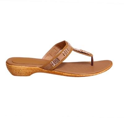 2Dost Women Brown Flats