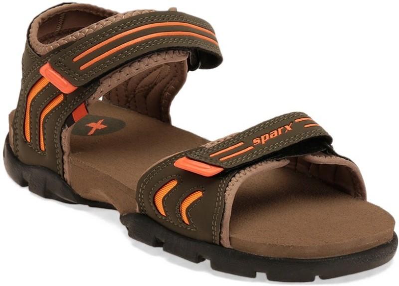 Sparx Men Olive Sandals