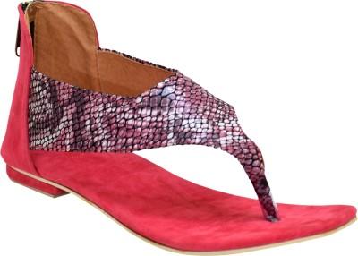 Stepee Women Pink Flats