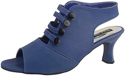 Style Her Women Blue Heels