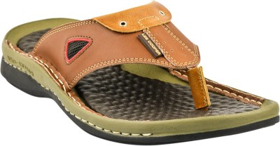 Lee Cooper Men Tan Sandals