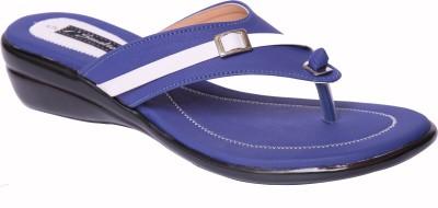Smalto Women Blue Flats