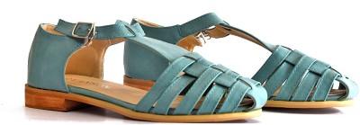 vanson Women Blue Flats