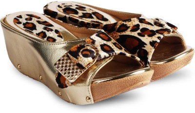 Anand Archies Women Gold Wedges
