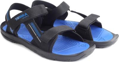 Adidas TERRA SPORTS Men Black, Blue Sandals