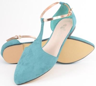 Estatos Women Blue Flats