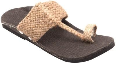 ndeez Men Khaki Sandals