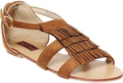 Flat n Heels Women Brown Flats