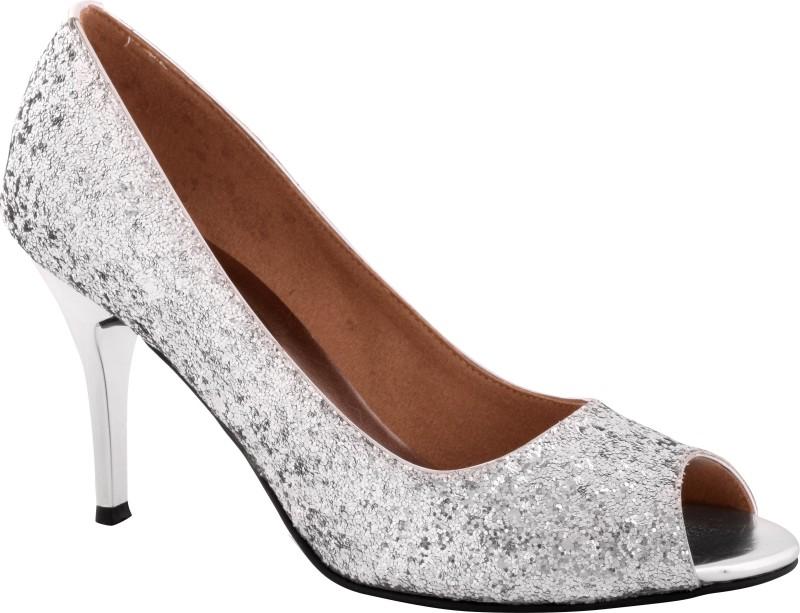 Indulgence Women Silver Heels