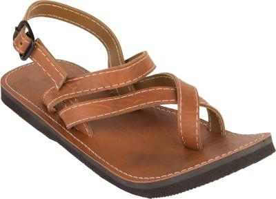 ShoppersPoint Men Brown Sandals