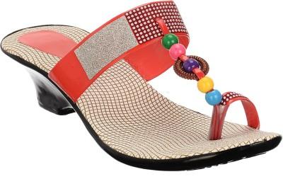 Brandvilla Women Red Heels