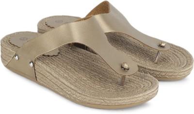 My Foot Women Gold Flats