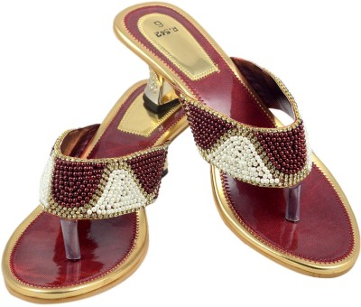 Walk N See Women Brown Heels