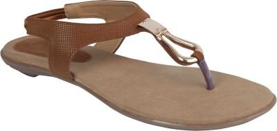 Allinyou Women Tan Flats